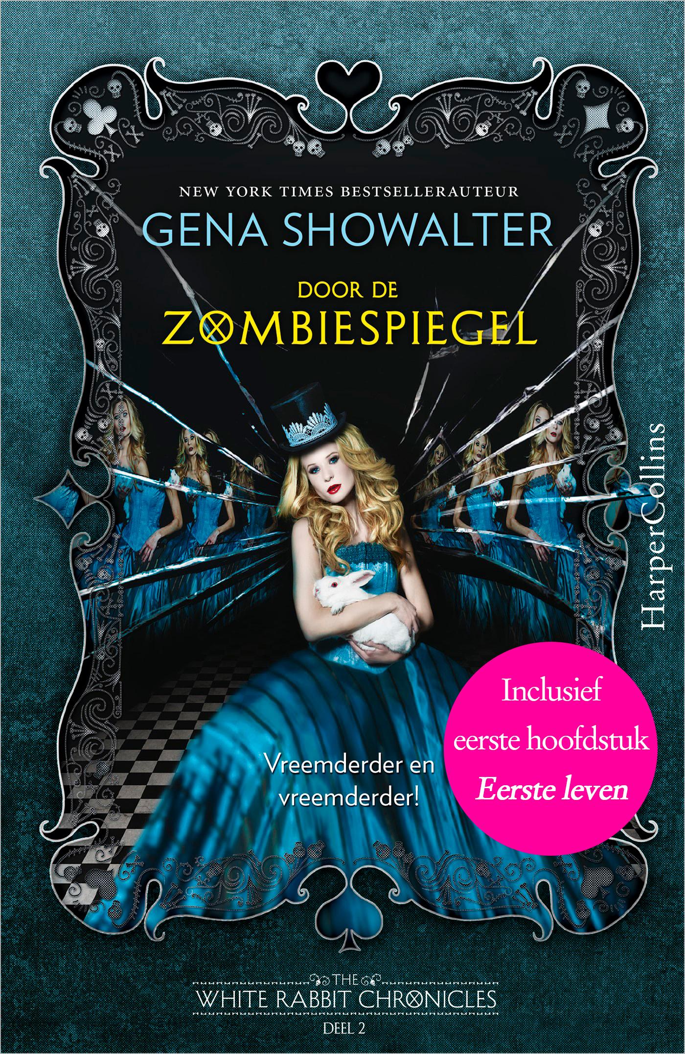 9789402508734 - Gena Showalter: Door de zombiespiegel (e-Book) - Book