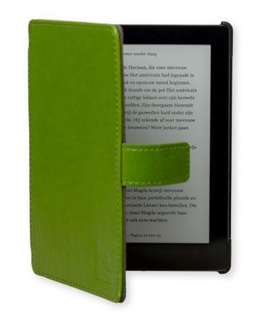 Gecko Covers Slimfit Beschermhoes voor Kobo Aura - Groen