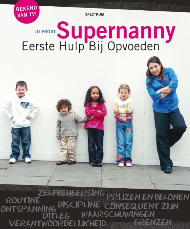 Kaft van e-book Supernanny