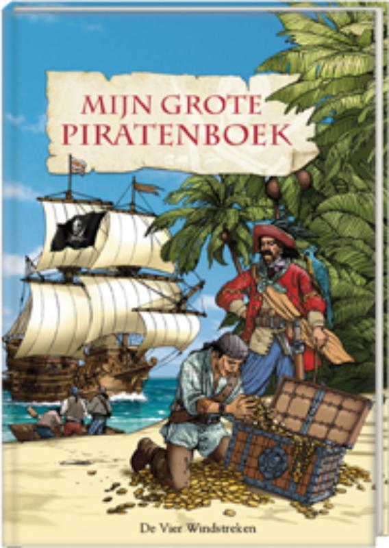 Mijn grote piratenboek + hoofddoek - B. Wernsing- Bottmeyer