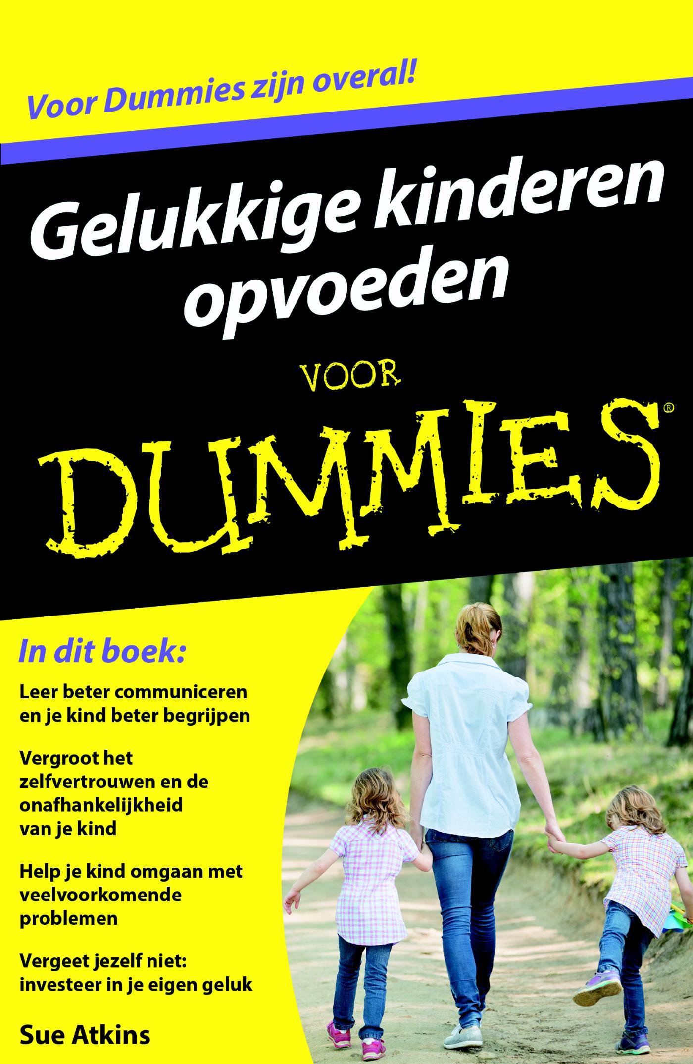 Kaft van e-book Voor Dummies - Gelukkige kinderen opvoeden voor Dummies