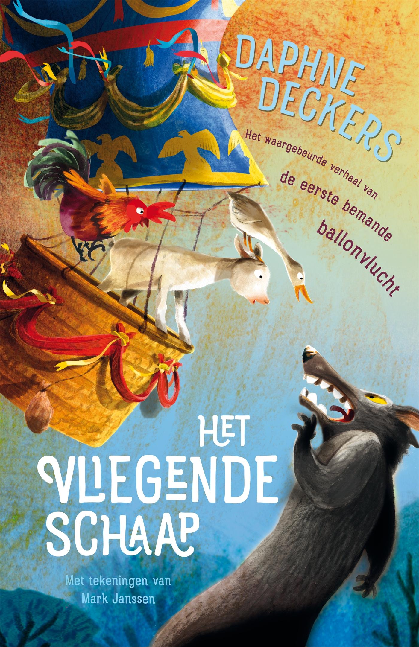 Kaft van e-book Het vliegende schaap