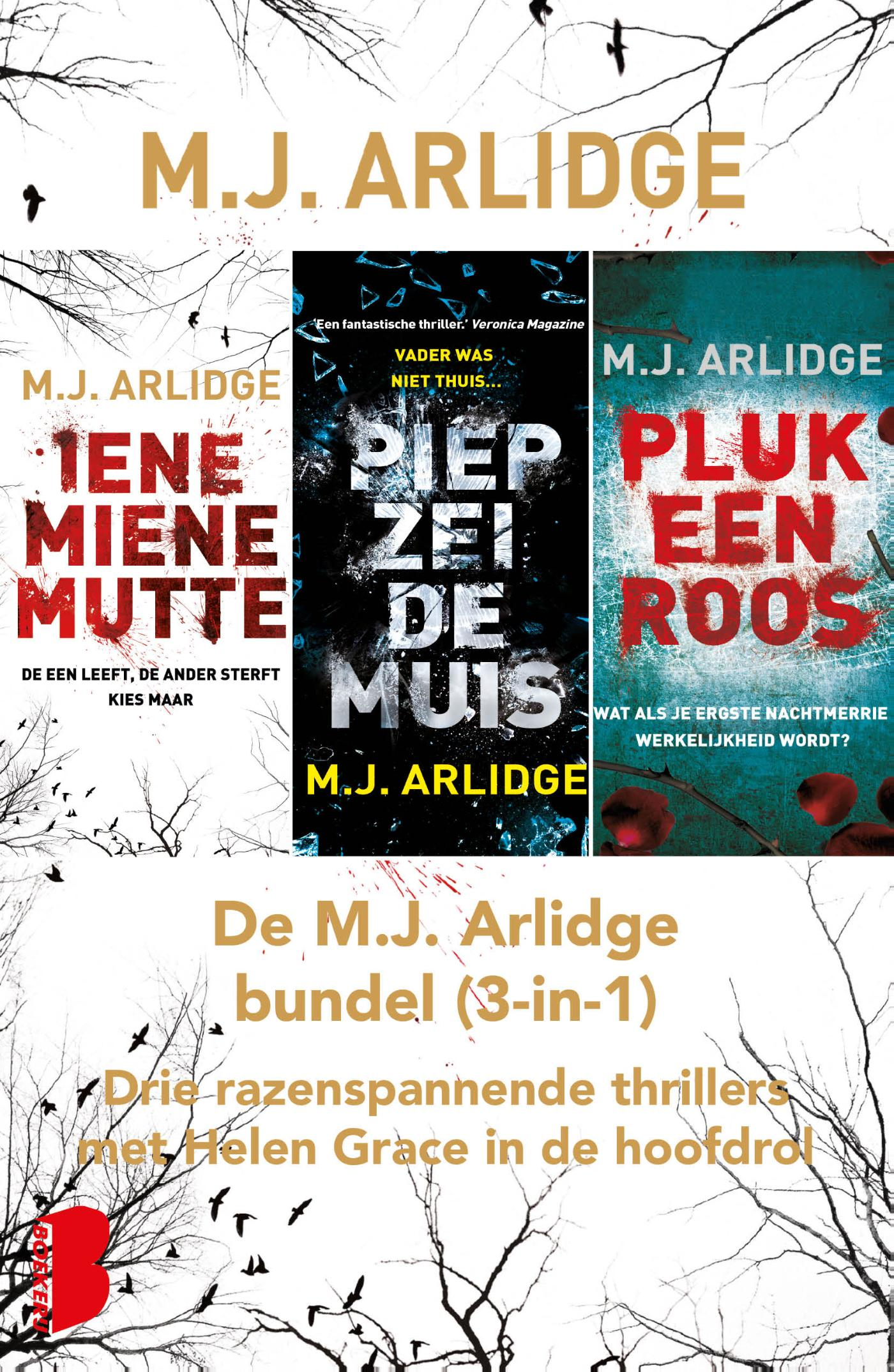 Kaft van e-book Helen Grace - De m.J. Arlidge bundel (3-in-1)
