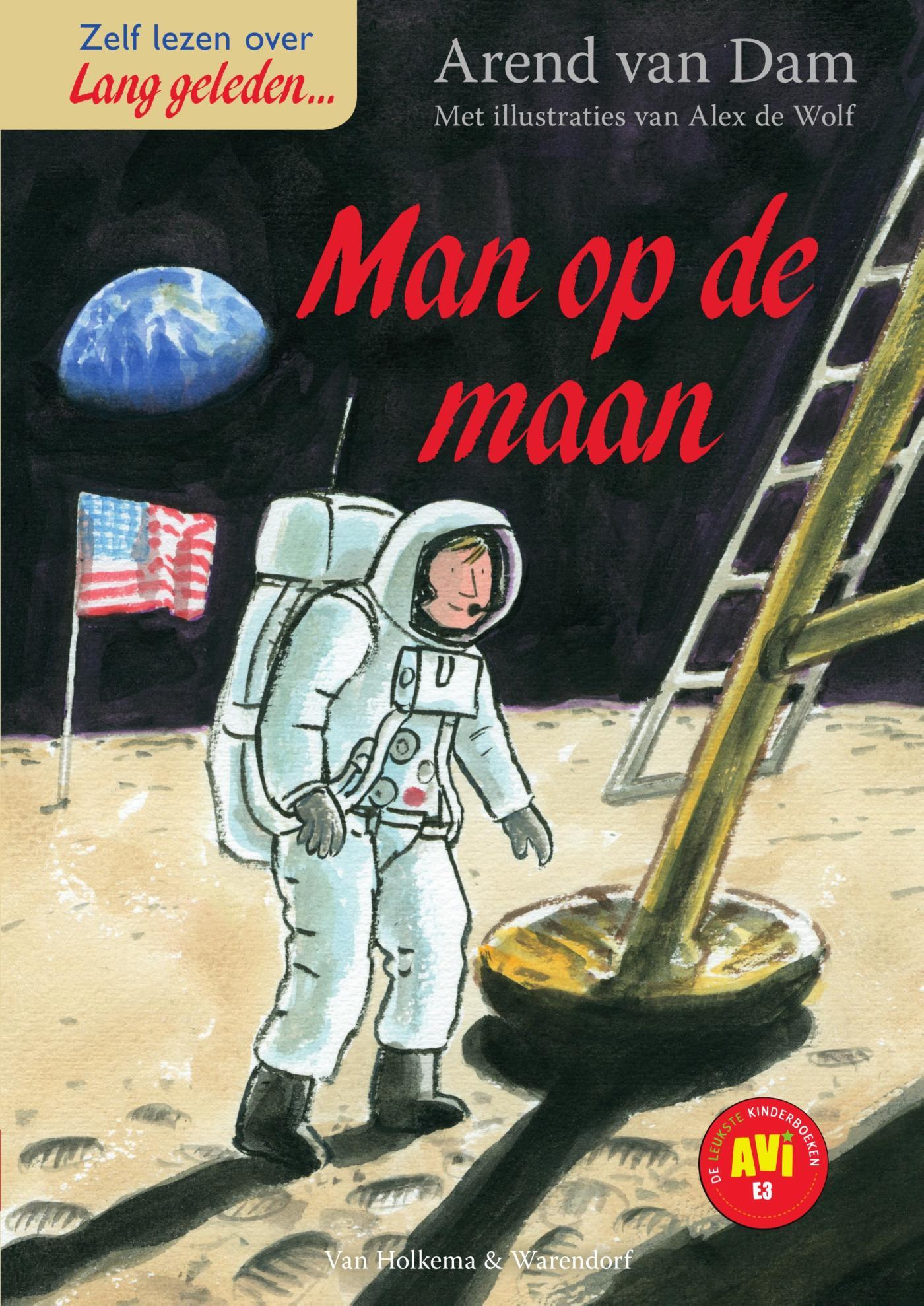 Kaft van e-book Lang geleden - De man op de maan