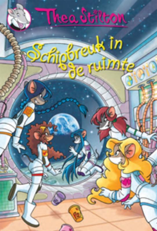 Schipbreuk in de ruimte - Thea Stilton