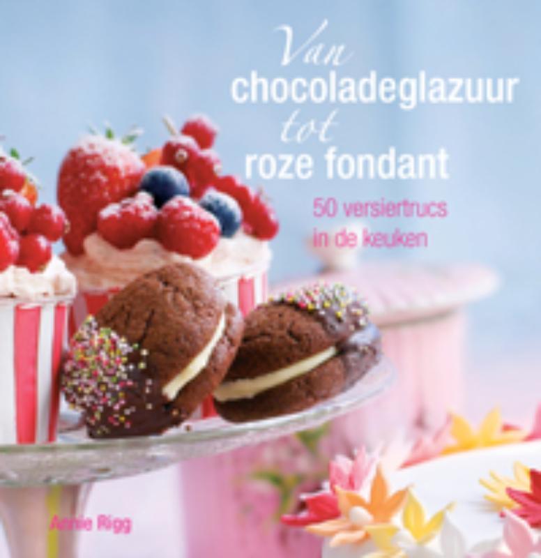 Van Chocoladeglazuur Tot Roze Fondant