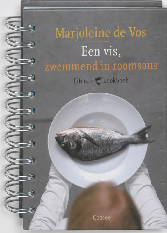 Een Vis, Zwemmend In Roomsaus