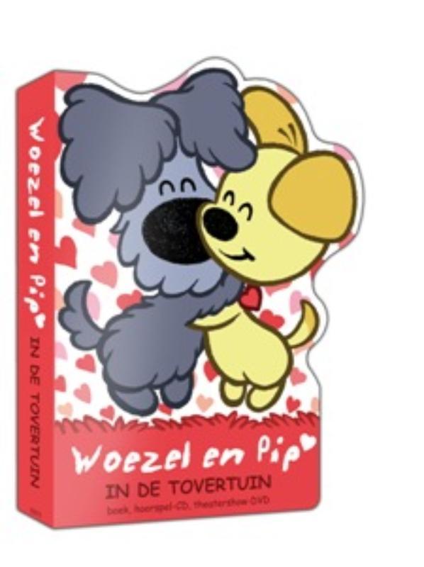 Woezel en Pip in de tovertuin (boek, dvd en cd)