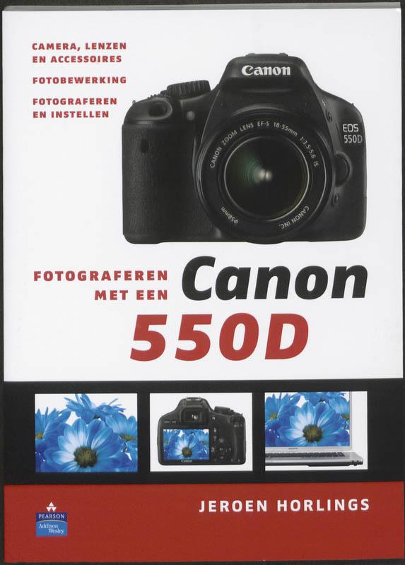 LITERATUUR FOTOGRAFEREN MET CANON 550D
